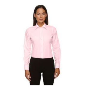 Devon & Jones Ladies' Crown Woven Collection Solid Broadcloth Shirt